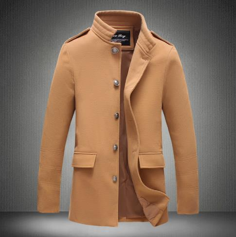 Men's New thick long coat CODE: mon792