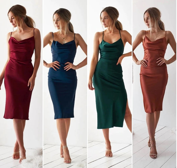 Women Bodycon Dress Elegant Sleeveless CODE: KAR890
