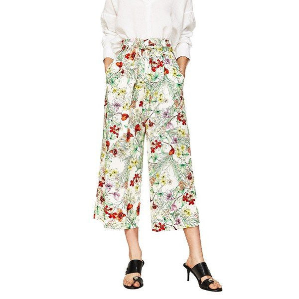 Printed Wide leg Pants CODE: mon1093