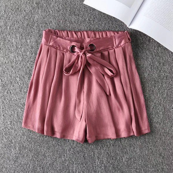Big Size Wide Leg  Pleated Hot pants / Shorts CODE: mon1158