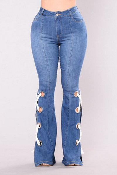 Boot Cut Frazzle Flare Bell Bottom Jeans CODE: mon1204