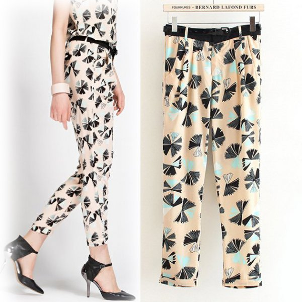 Fashion Print Pants CODE: mon1277