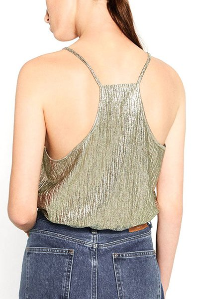 Deep V-neck Backless Camisole Tank Top CODE: mon1351