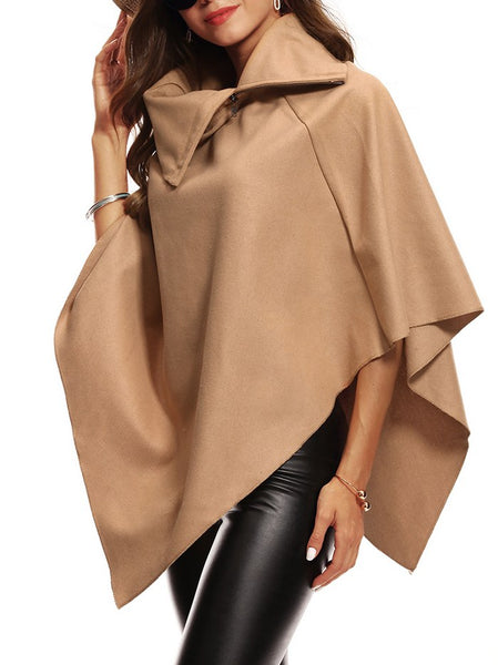 Style Solid Loose Waistcoat Shawl CODE: mon1354