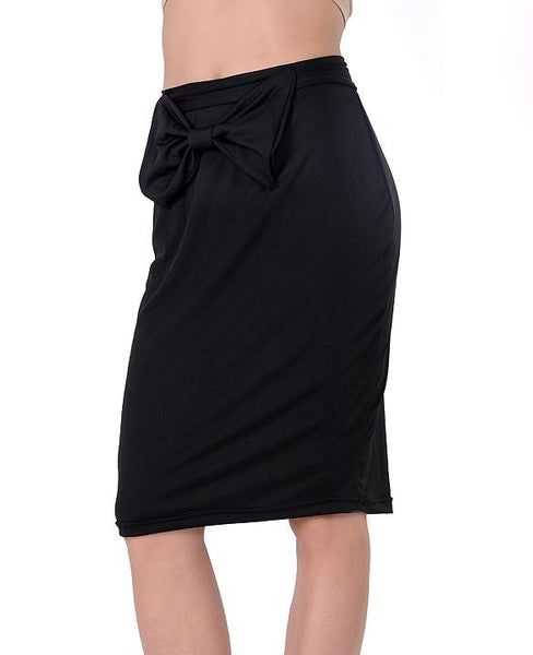 Bodycon bow pencil skirt CODE:  READY200