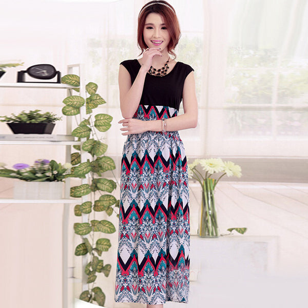O-neck Simple Ankle Maxi Dress CODE: READY221