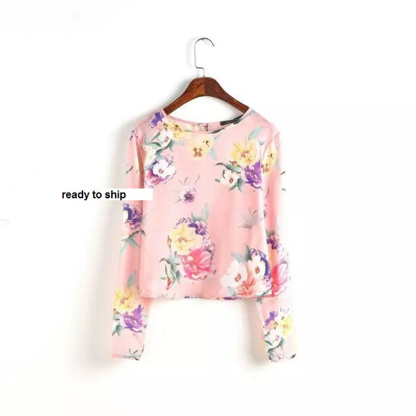 Casual Printed Top CODE: READY315 , READY413 , READY415