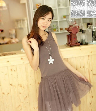 Gauze Casual Dress CODE: READY366