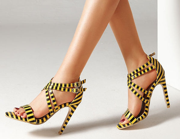 Stiletto high heel sandals SIZE:37 CODE: READY731