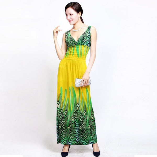 Sleeveless Sweet Long Dress CODE: READY83