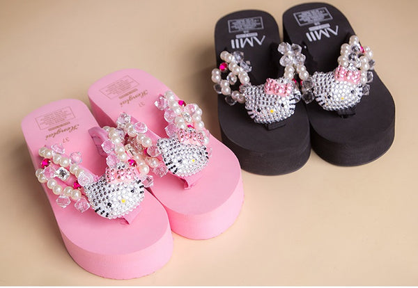 iamond gem pearl beach slippers CODE: mon1091