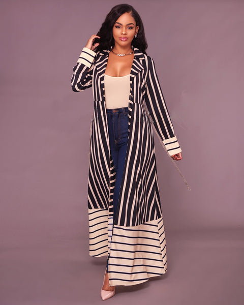 print striped jacket CODE: mon1102