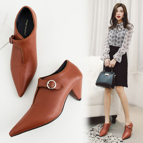 Pointed Toe Classy Shoes CODE: mon1187