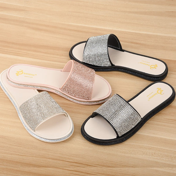 flat diamond comfortable slippers CODE: mon1313