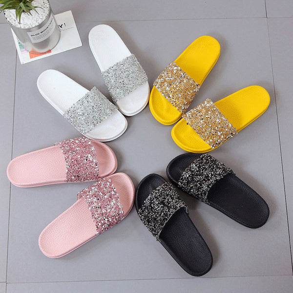 Casual shiney Roman slipper CODE: mon1354