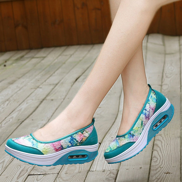 thick bottom sports shallow mouth shoes CODE: mon1454