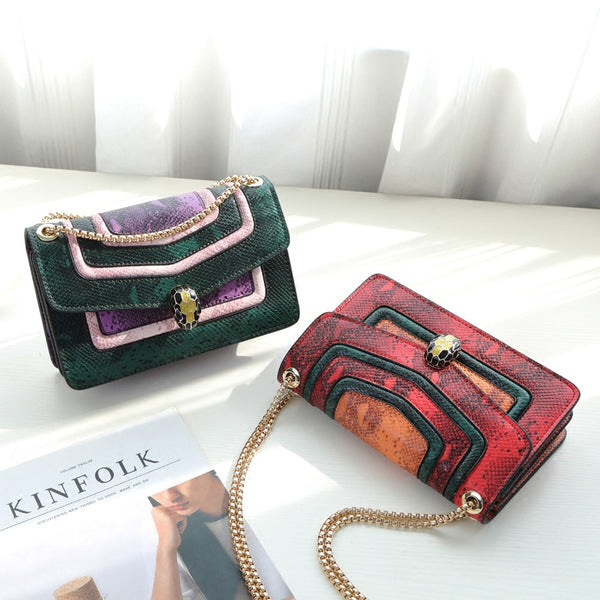 square bag Stylish chain bag shoulder bag CODE: mon1475