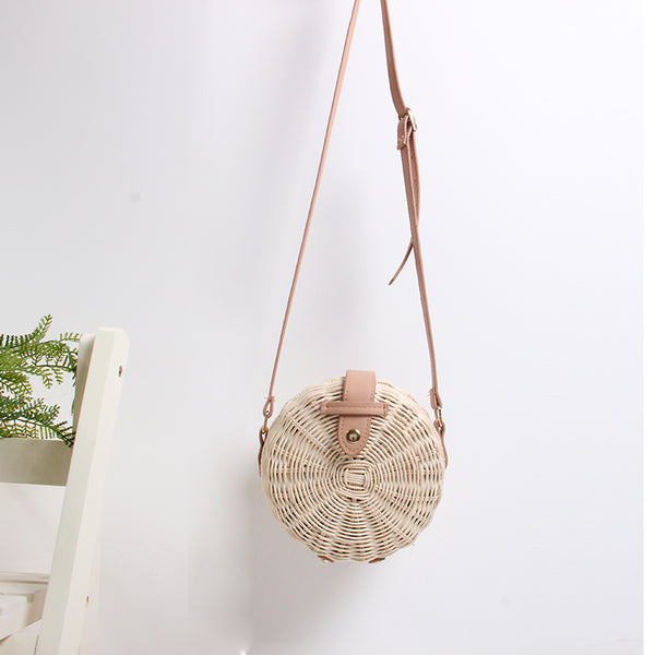 woven bag straw diagonal shoulder handbag CODE: mon1494