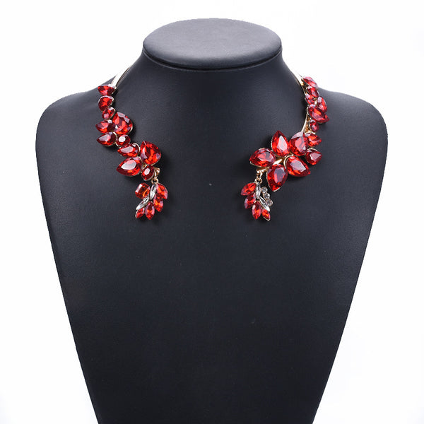 luxury crystal alloy collar Necklace CODE: mon1530