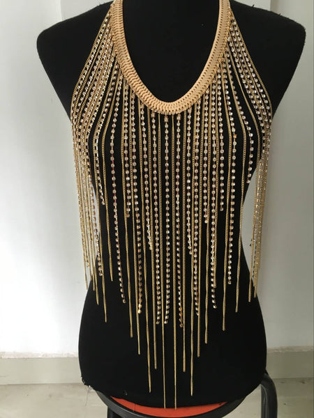 long body chain Neckpiece CODE: mon1580