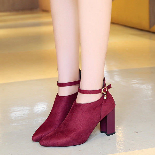 pointed fashion boots CODE: mon1675