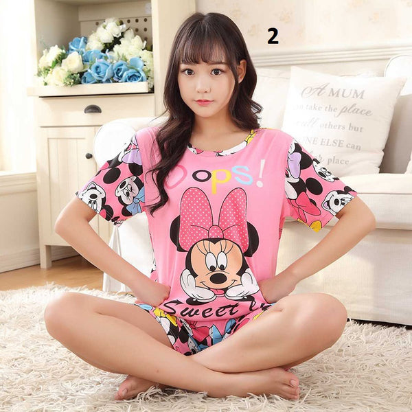 Short sleeve  pajamas set CODE: mon1730