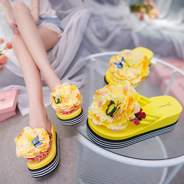flowers butterfly slipper CODE: mon1784