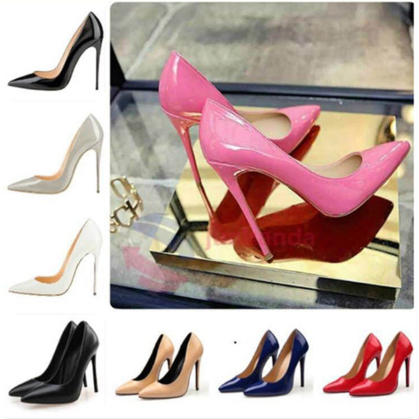 Pointed high heels sexy shallow mouth shoes CODE: mon1786