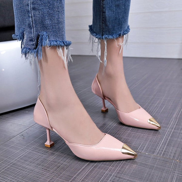Pointed stiletto heels shoes  CODE: mon1803