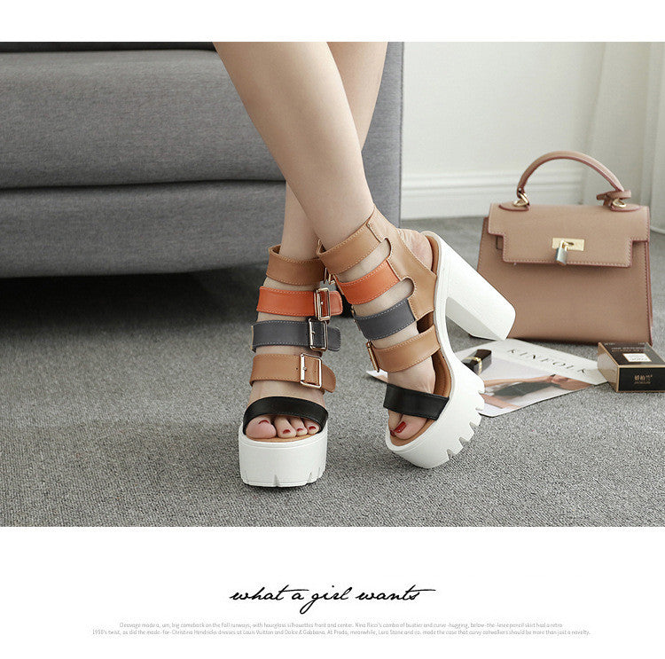 High toe Sandal CODE:mon450