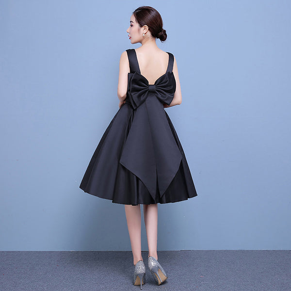 Back Bow High Style paragraph wedding banquet evening dress CODE: mon489