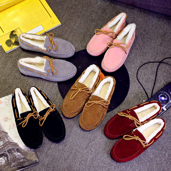 Cashmere Lazy Warm Shoes CODE: mon502