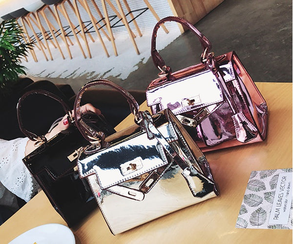 Laser Metallic love bag handbag Messenger CODE: mon514