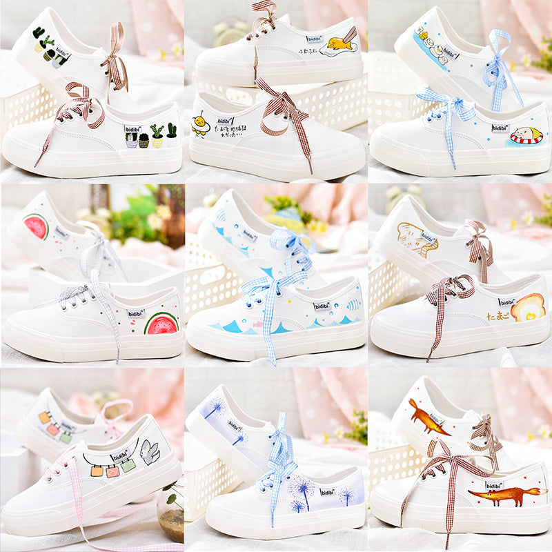 Canvas Stylish white shoes CODE: mon526