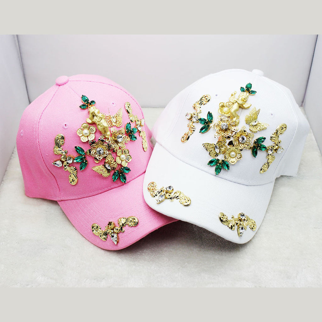beauty head flowers fashion women cap CODE: mon532