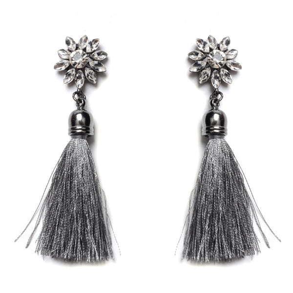big stage catwalk models eyes tassel earings CODE: mon577 , mon578 , mon579