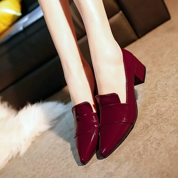 Pointed flat Casual Heel Shoe cODE: mon628