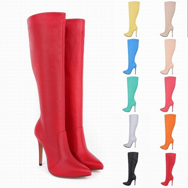 tiletto boots  slim tube High Heels CODE: mon802