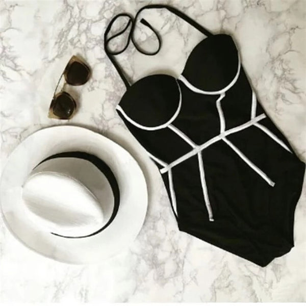 triangle conservative bikini swimsuit CODE: mon885
