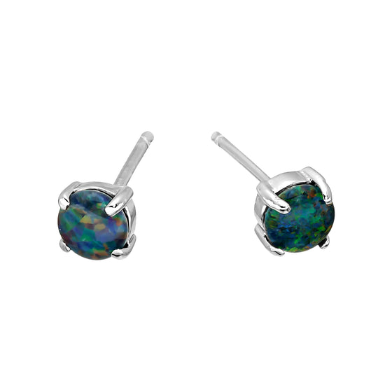 18K Gold Plated Opal Earrings - 051