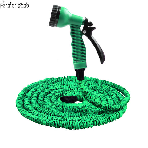 25FT-100FT Garden Hose Expandable Magic Flexible Water Hose EU Hose Plastic Hoses Pipe With Spray Gun To Watering - MyiCases