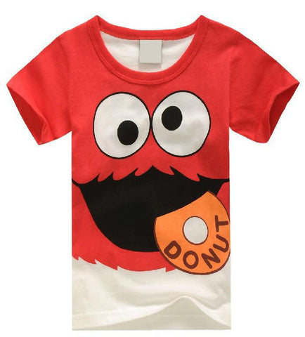 Chang sweet boys girls Super Hero Print T-shirt - MyiCases