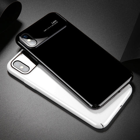Luxury Clear Mirror Shockproof Case For iPhone X 8 7 Plus Cover Fashion Matte Hard Phone Cases For Samsung Galaxy S9 Plus - MyiCases
