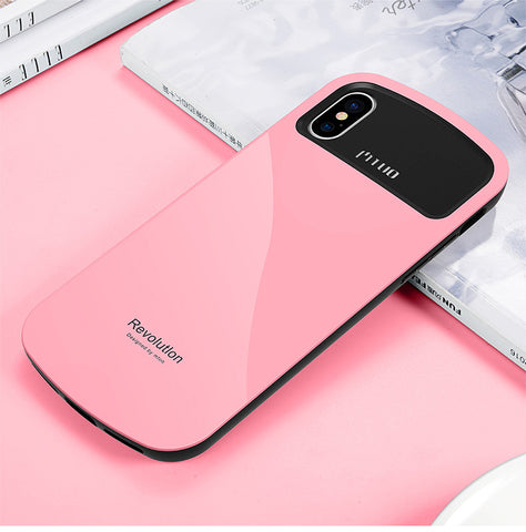 Toraise Case 360 Full Protection Soft Frame+Hard iPhone X 8 7