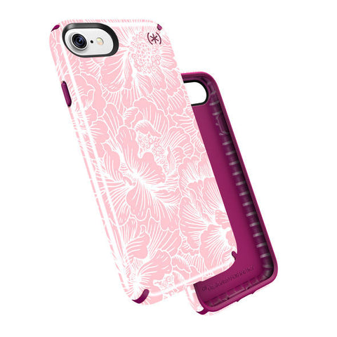 check out 3b2d0 f7bb8 Speck iPhone 7 Plus PRESIDIO INKED FRESHFLORAL ROSE/MAGENTA PINK