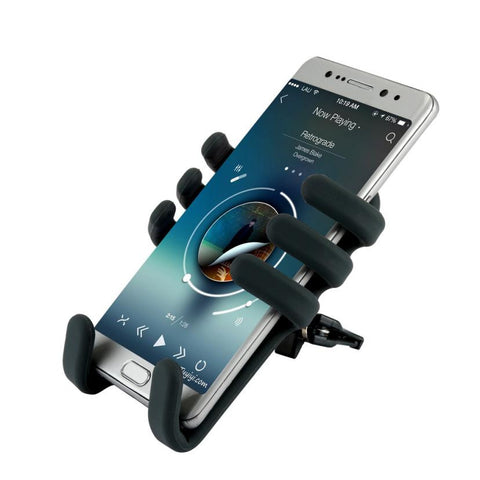 Car-charger Qi Wireless Charger Car Mount Holder - MyiCases