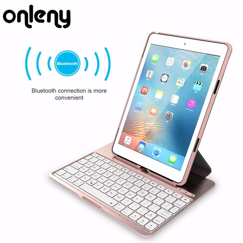Mini Bluetooth Wireless Keyboard 3 in 1 keyboard case for iPad Air 2 for iPad pro 9.7inch  With 500 mAh Battery - MyiCases