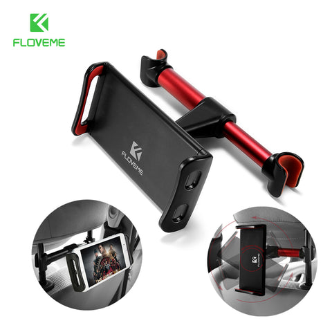 FLOVEME 4-11'' Universal Tablet Car Holder For iPad 2 3 4 Mini Air 1 2 3 4 Pro Back Seat Holder Stand Tablet Accessories in Car