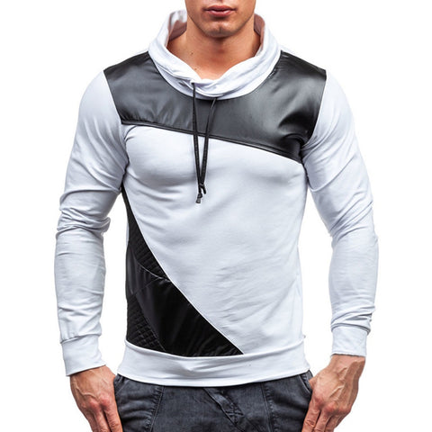 Men's Leather Hooded Fight - MyiCases