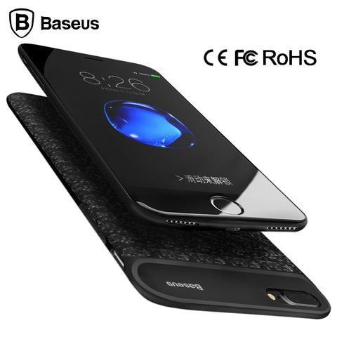 Baseus Battery Charger Case For iPhone 6 6s 2500/5000mAh External Battery Case Cover Power Bank Case For iPhone 7 / 7 Plus - MyiCases